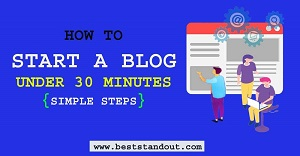 start blog in 2021