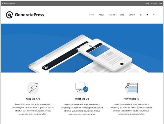 generate wordpress theme