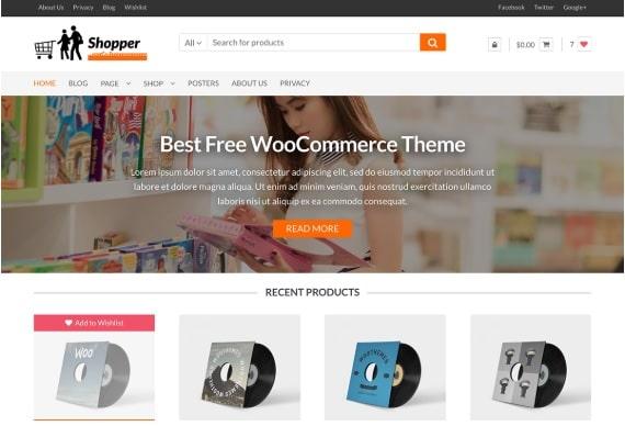 shopper ecommerce theme