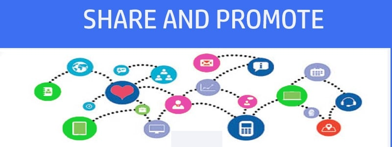 promote channel through social network
