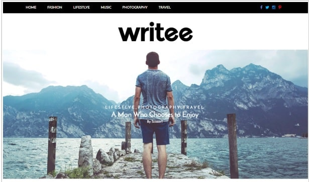 best wordpress theme for a blog