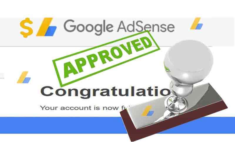 google adsense approval 2021