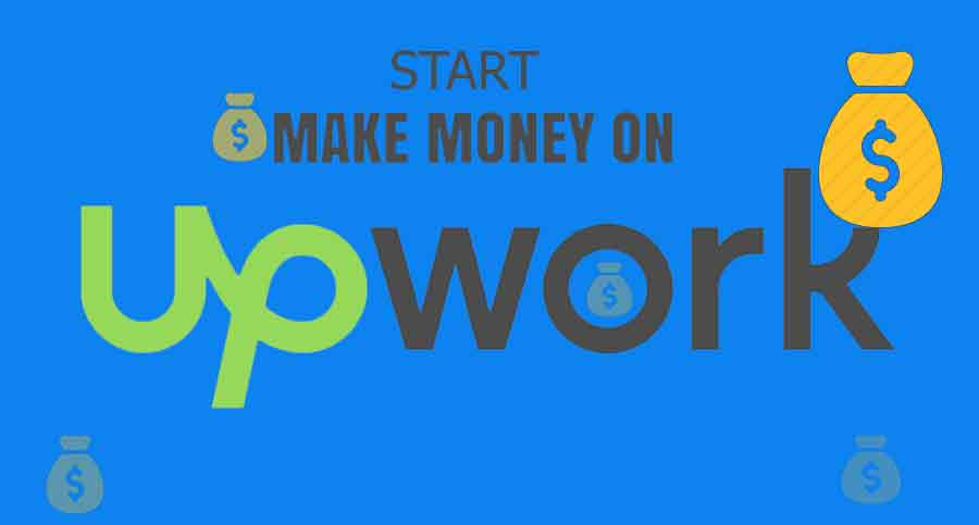 How to Earn money from mobile-upwork