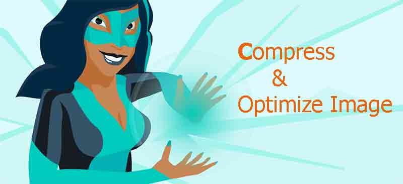 Compress image using smush