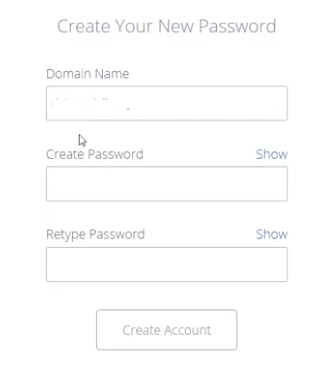 password for blog bluehost