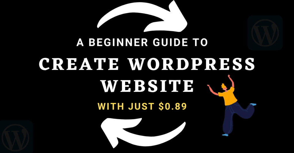 create wordpress wesbite
