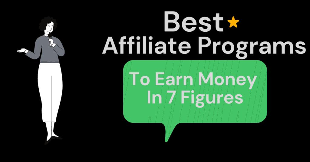 best affiliate programs to earn money