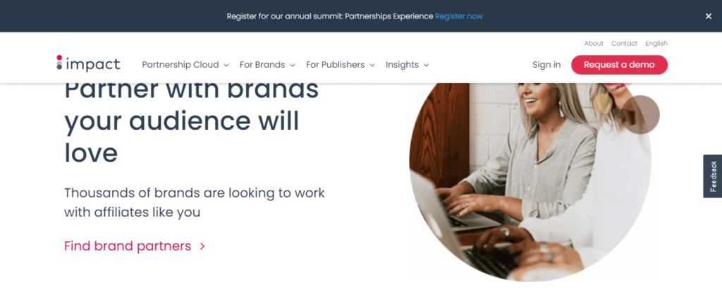 impact  affiliate program