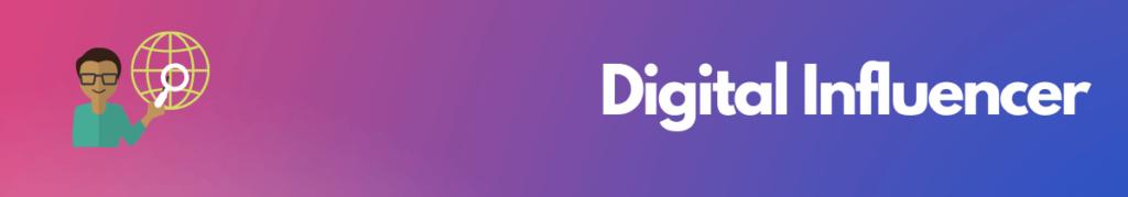 Digital influencer most profitable online business