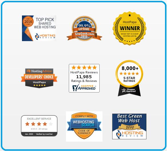 award winning web hosting